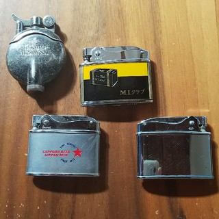 ロレックス(ROLEX)のオイルライター  4個(タバコグッズ)