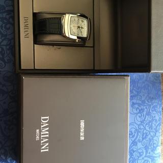 ダミアーニ(Damiani)のダミアーニ エゴGMT自動巻き未使用品。イタリアの老舗宝飾店ダミアーニの時計(腕時計(アナログ))