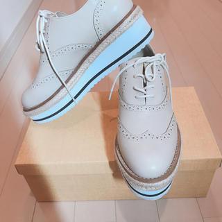 マーキュリーデュオ(MERCURYDUO)のプラットフォーム オックスフォード シューズ マーキュリーデュオ (ローファー/革靴)
