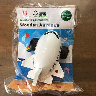 JAL(日本航空) - JAL限定 木製飛行機