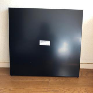 パナソニック(Panasonic)のレンジフード前幕板(パナソニック用黒色)(その他)