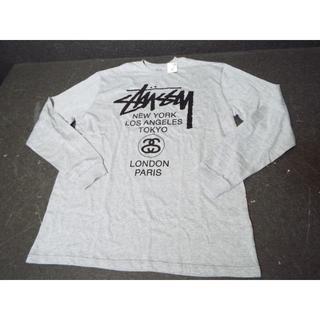 ステューシー(STUSSY)の【新品】ステューシー ワールドツアー ロゴ ロンT MB805(Tシャツ/カットソー(七分/長袖))
