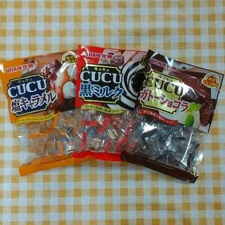ユーハミカクトウ(UHA味覚糖)のキュキュキャンディー(菓子/デザート)