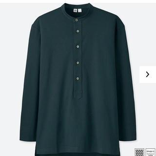 スーピマコットンプルオーバーシャツ UNIQLO