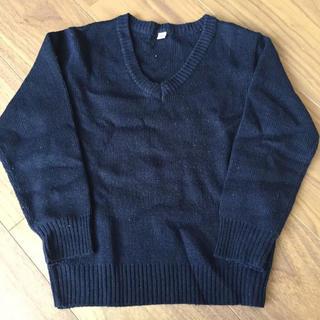ニシマツヤ(西松屋)のシンプル Vネック セーター 110 制服に(ニット)