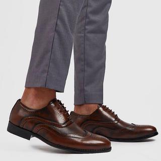 トッズ(TOD'S)のasos boohoo 靴 フォーマル ドレッシー PUレザー 新品 54(ドレス/ビジネス)
