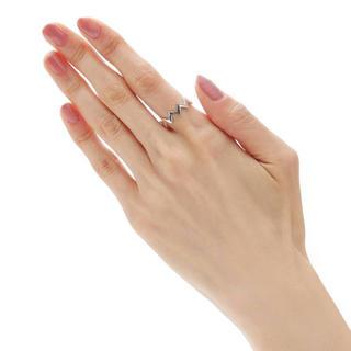 ココシュニック(COCOSHNIK)のCOCOSHNIK(ココシュニック) ラスティングシルバー ジオメトリック(リング(指輪))