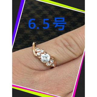 J【美品♪♪キラキラ光るリング♪】(リング(指輪))