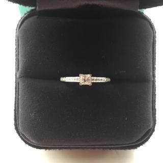 Tiffany & Co. - ティファニー グレースリング ダイヤモンド プリンセスカット Dカラー