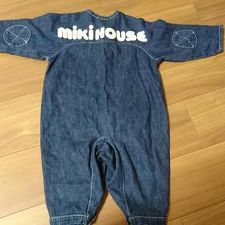 mikihouse - ミキハウス カバーオール 80