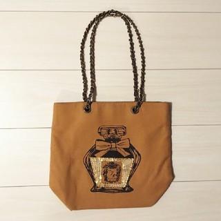 クチュールブローチ(Couture Brooch)のGOLDスパンコール  バッグ(ハンドバッグ)