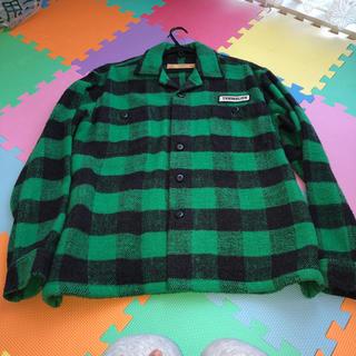 テンダーロイン(TENDERLOIN)のキムタク着私物プライドグランメゾンテンダーロインネルシャツチェックシャツS(ブルゾン)