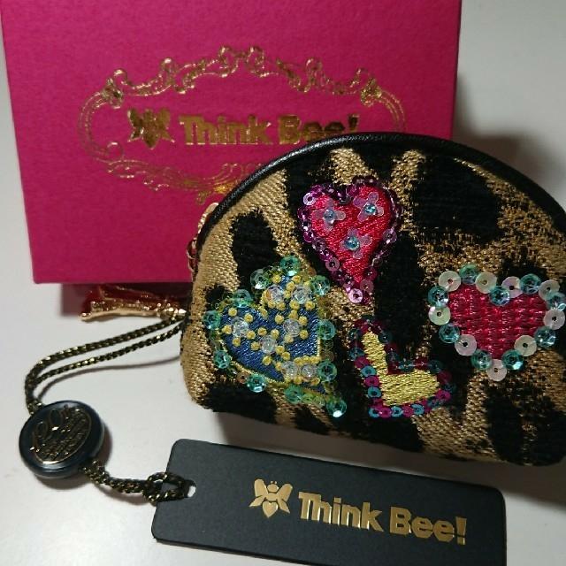 Think Bee!(シンクビー)のThink Bee! 小銭入れ レディースのファッション小物(財布)の商品写真