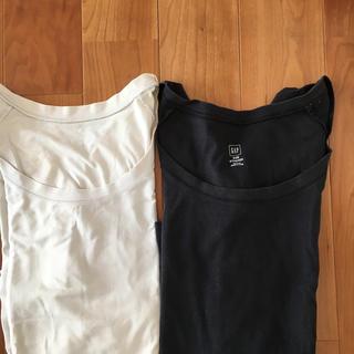 ギャップ(GAP)のGAPロンティーXXS 2枚(Tシャツ(長袖/七分))