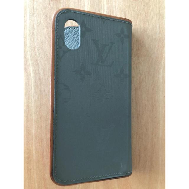 LOUIS VUITTON - ルイヴィトン iphone Xフォリオ チタニウムの通販