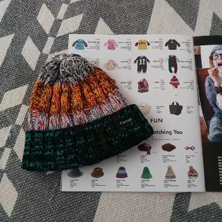 デニムダンガリー(DENIM DUNGAREE)のニット帽 Sサイズ(帽子)