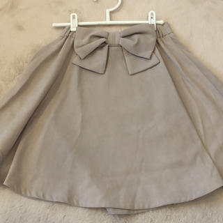 ByeBye - ByeBye バックリボンスカート