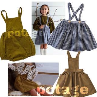 Caramel baby&child  - 《19AW》SP  ストラップパンツ & ワンピース スカート