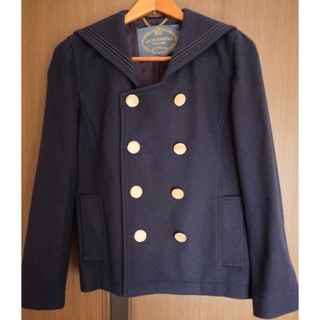 JaneMarple(ジェーンマープル)のJANE MARPLE*セーラーカラーコート レディースのジャケット/アウター(ピーコート)の商品写真