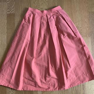 ルカ(LUCA)のLUCA コーラルオレンジ スカート (ひざ丈スカート)