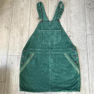 チチカカ(titicaca)のチチカカのコーデュロイスカート(サロペット/オーバーオール)