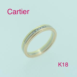 カルティエ(Cartier)の☆大人気☆ カルティエ トリニティリング K18  (リング(指輪))