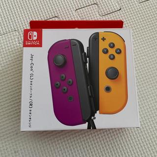 Nintendo Switch - 新品 Joy-Con(L) ネオンパープル / (R) ネオンオレンジ