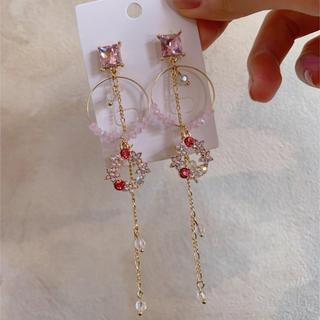 Flower chain pierce