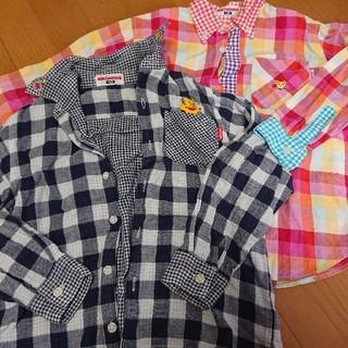 mikihouse - MIKI HOUSE 長袖シャツ 120サイズ