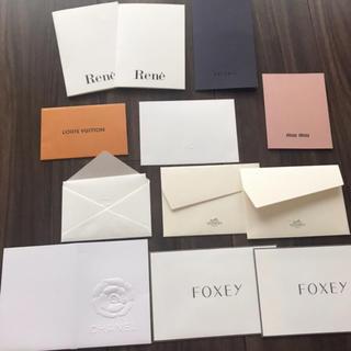 シャネル(CHANEL)の正規品 ブランド 封筒セット(カード/レター/ラッピング)