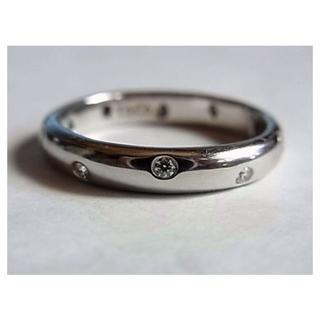 Tiffany & Co. - 美品ティファニー ダイヤ ドッツpt950リング指輪23号プラチナ ダイヤモンド