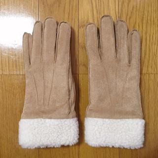 ユニクロ(UNIQLO)のUNIQLO ムートンタッチグローブ M(手袋)
