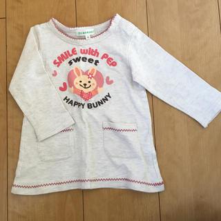 サンカンシオン(3can4on)のウサギさんᕱ⑅ᕱ♥ロンティー(Tシャツ)