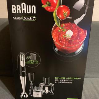 BRAUN - 【新品未使用】ブラウン マルチクイック7 MQ738
