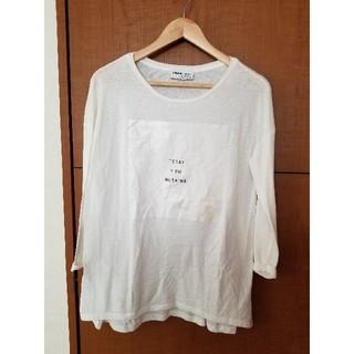 ザラ(ZARA)の新品未使用 ZARA ロンT(Tシャツ(長袖/七分))