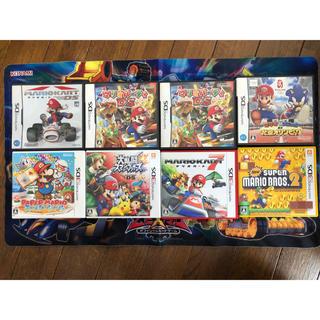 ニンテンドー3DS(ニンテンドー3DS)のマリオ 3DS DS ソフト セット 9本まとめ売り(家庭用ゲームソフト)