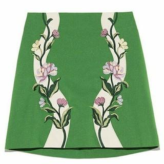 Lily Brown - lilybrown  刺繍フラワースカート