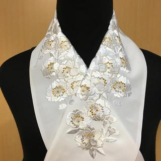 礼装用 振袖兼用 刺繍半衿 桜の花づくし 豪華版