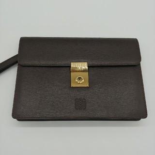LOEWE - ロエベ セカンドバッグ 未使用 ブラウン