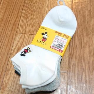 ディズニー(Disney)のMickey Mouse くるぶしソックス(ソックス)