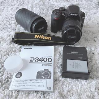 Nikon - Nikon D3400 一眼レフカメラ