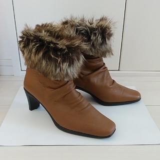 ファー付きショートブーツ(ブーツ)
