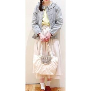 サマンサモスモス(SM2)の【新品・未使用】Samansa Mos2 フリル衿ジャケット(その他)