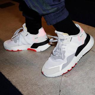 アディダス(adidas)のアディダス ナイトジョガー ホワイト(スニーカー)