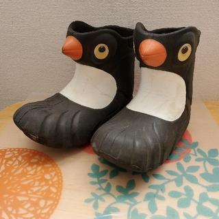 ペンギン長靴☆18.6cm☆ポリウォークス(長靴/レインシューズ)