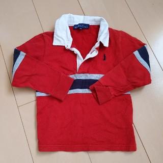 イーストボーイ(EASTBOY)のEASTBOY 衿切替ポロシャツ(Tシャツ/カットソー)