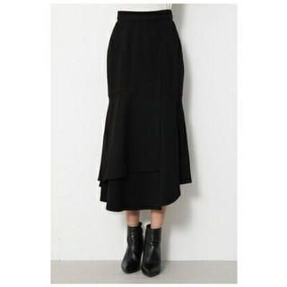 rienda - rienda リエンダ マーメイドライン ラップスカート