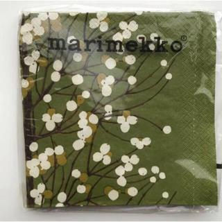 marimekko - マリメッコ  ペーパーナプキン 5枚