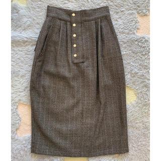 Demi-Luxe BEAMS - ELIN ハウンドトゥース ポケットスカート 38
