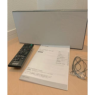 SONY - SONY CMT-X3CD マルチコネクトコンポ パーソナルオーディオシステム